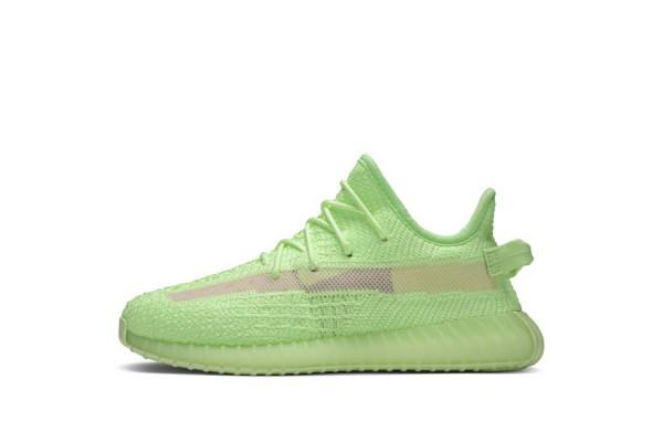 "Fake Yeezy Boost 350 V2 ""Green Glow"" (Kids)"