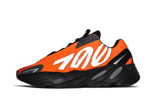 Fake Yeezy 700 MNVN 'Orange' Reflective Sneaker