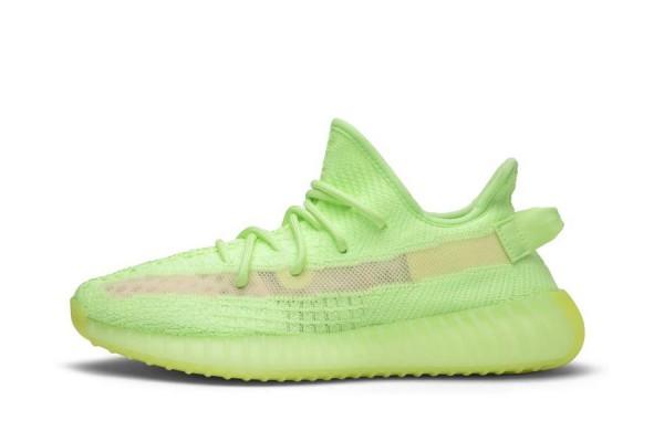 Fake Yeezy Boost 350 V2 Green GID 'Glow'