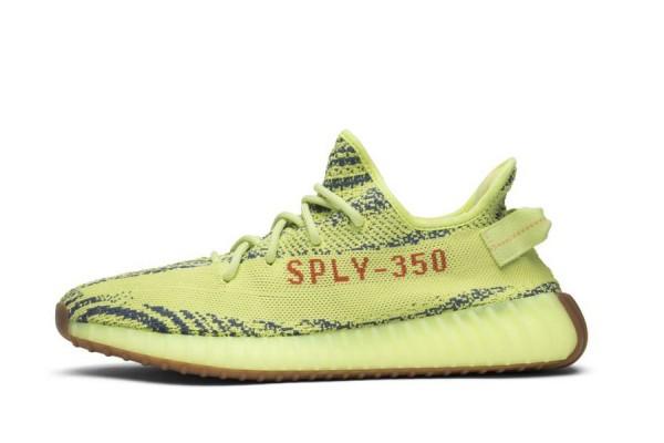 "AAA Quality Fake Yeezy 350 V2 ""Semi Frozen Yellow"""